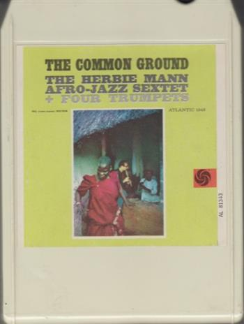 the common ground herbie mann 8 track tape