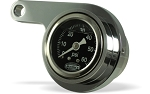 Oil Pressure Gauge for Rocker Box Mount
