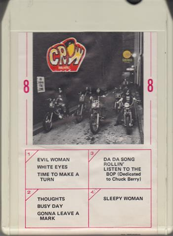 crow music 8 track tape