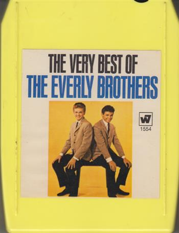 8-Track Tape Cartridges - The Everly Brothers: The Very Best of the Everly Brothers