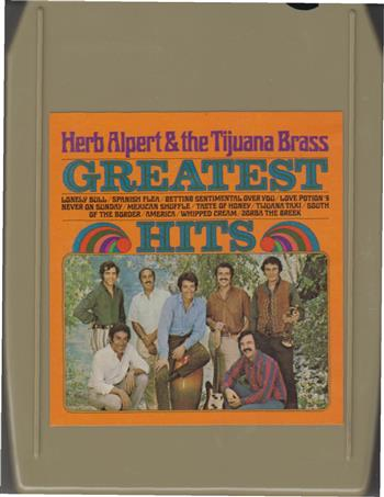 Herb Alpert & The Tijuana Brass 8 track tape