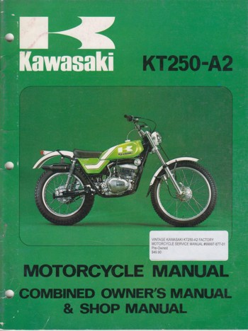 Kawasaki 1979 KLX250-a2 Assembly