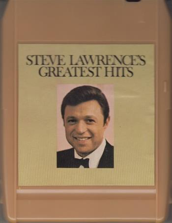 STEVE LAWRENCE'S GREATEST HITS 8 track tape