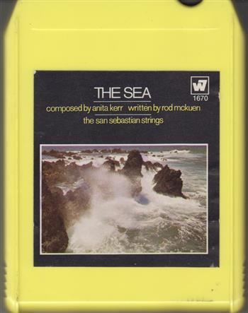 The Sea San Sebastian Strings 8 Track Tape