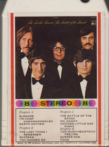 The Turtles Presents The Battle Of The Bands-1968- 8 track tape